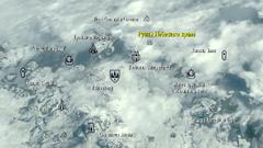 Руины Небесного храма карта