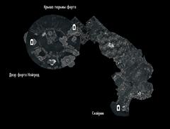 Форт Нойград - тюрьма - план