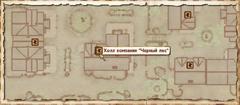 Холл компании Чёрный лес. Карта