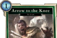 Arrow to the Knee Card DWD