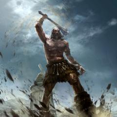 "Karta ""Gigant o tęgim serduchu"" z gry The Elder Scrolls Legends"