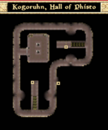 Kogoruhn, Hall of Phisto - Interior Map - Morrowind
