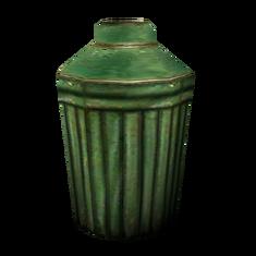 Зелёный горшок