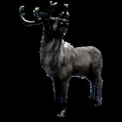 Олень Deer 001