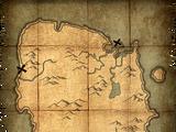 Deathbrand Treasure Map