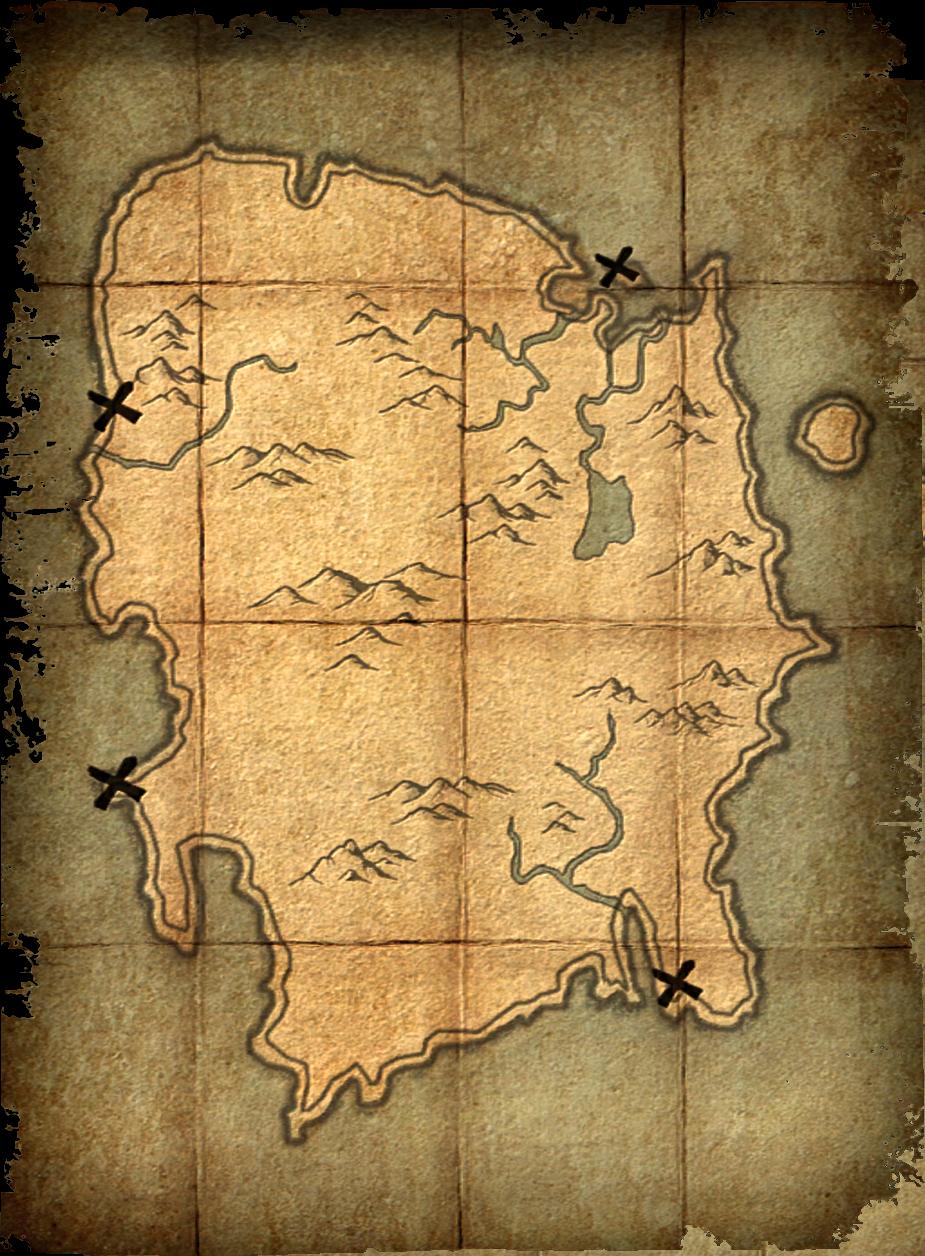 Deathbrand Treasure Map Elder Scrolls Fandom Powered By Wikia