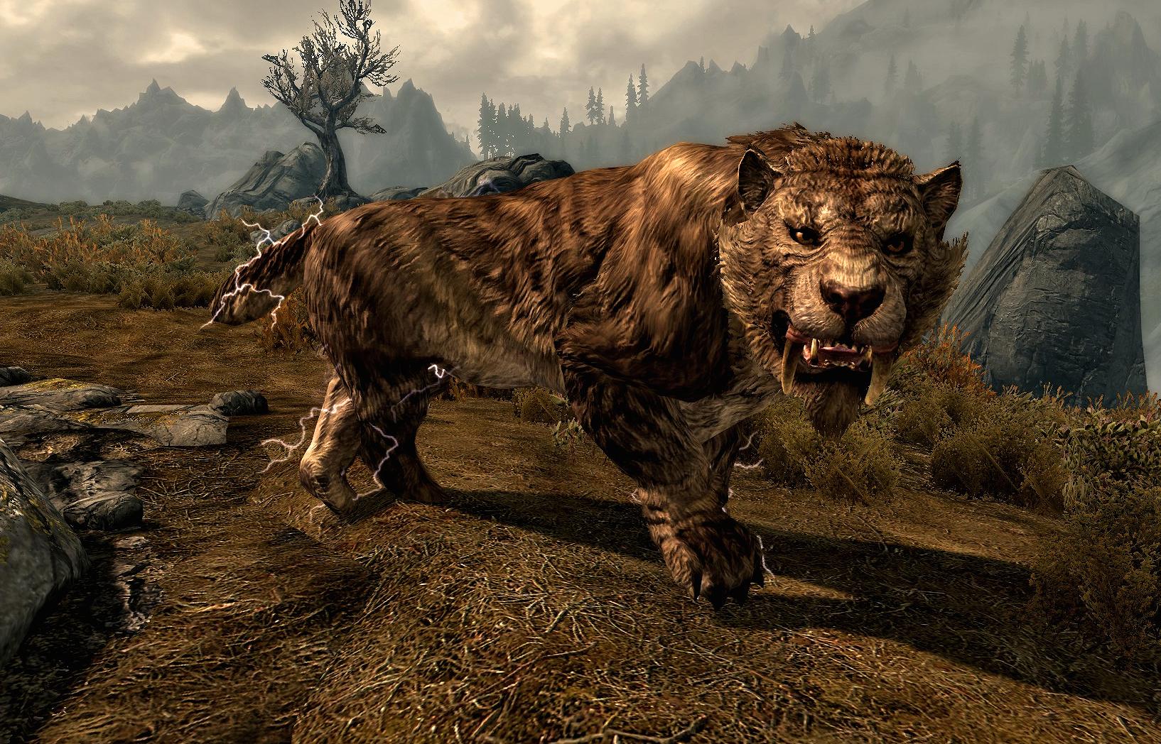 Fur Animal Cat Skyrim