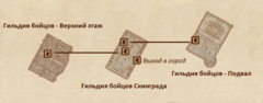 Гильдия бойцов Скинграда - план