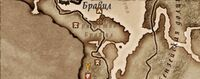 Карта святилища Шеогората
