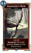 Card-Assassin's Bow