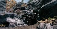 Miniera Panciarossa - Entrata