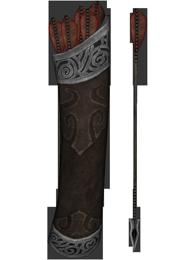 Skyrim ebony arrow id