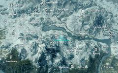 Главный подъёмник Ральдбтхара - карта