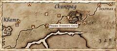 Пещера Огненного Света. Карта