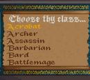 Classes (Arena)