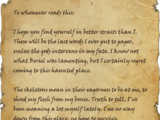 Last Words of Gordianus Fortunatus