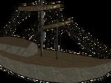 Maqueta del barco