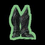 Necronomicronica's daedric boots