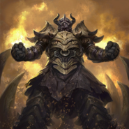 Драконья панцирная броня (миниатюра)