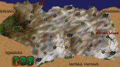Лес Верним (Карта)