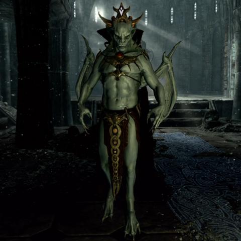 Harkon w postaci Wampirzego Lorda