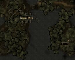 TES3 Morrowind - Bitter Coast - Abernanit (cave) - location map