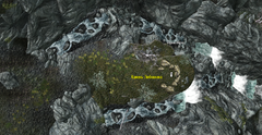 Камень Любовника - план