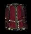 Красная льнаная рубашка