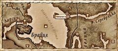 Неналата. Карта
