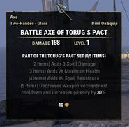 Torug's Pact Axe