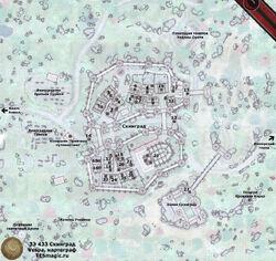 Карта Скинграда