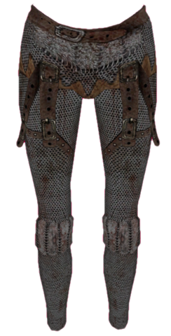 File:Chainmail Greaves Female.png