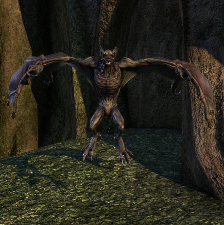 Giant Bat (Online) | Elder Scrolls | FANDOM powered by Wikia