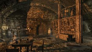 Дом Ромлина Дрета - входная дверь