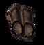 Промасленные льняные туфли
