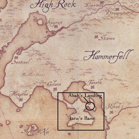 Hew's Bane na mapie <a href=