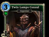 Twin Lamps Consul