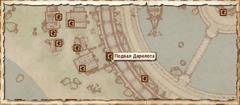 Дом Дарелота. Карта