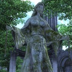 Posąg Mary z gry The Elder Scrolls IV: Oblivion