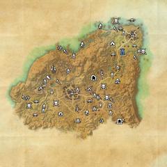Ривенспайр-Дорожное святилище Боралиса-Карта
