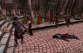 Light the Dragonfires Fighting Daedra.png