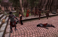 Light the Dragonfires Fighting Daedra