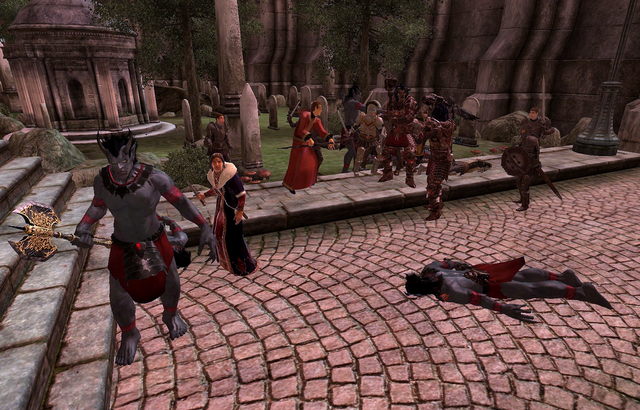 File:Light the Dragonfires Fighting Daedra.png