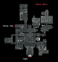Map volkihar castle interior