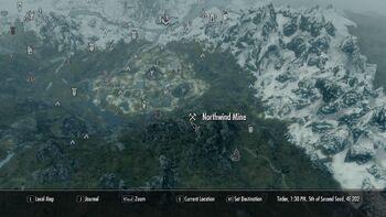 Where to mine ebony ore
