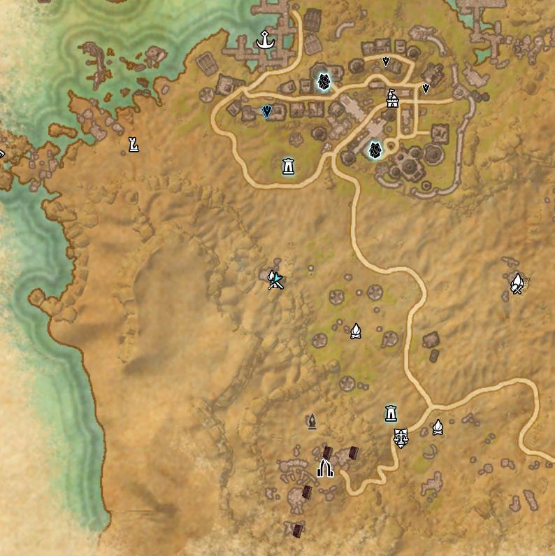 Image - Santaki (Online) Map.png   Elder Scrolls   FANDOM powered by ...