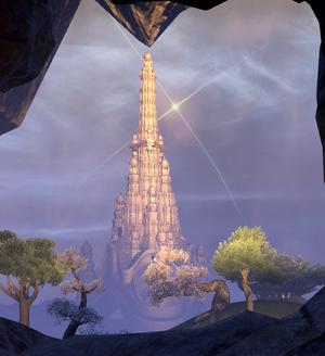 Ceporah Tower (Screenshot from Summerset Prologue)