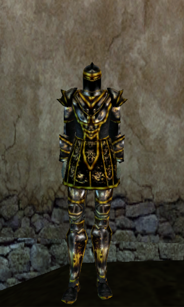 How to make ebony armor