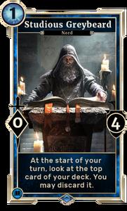 Studious Greybeard (Legends)