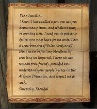 Sven's Fake Letter